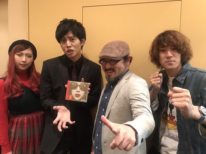 GLIM SPANKY、松坂桃李さん、白石晃士監督
