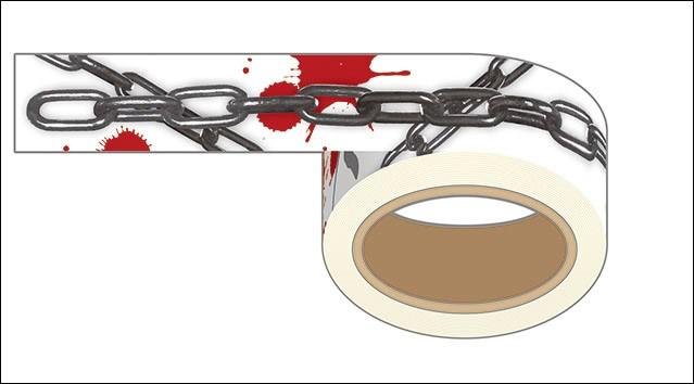 『ベルリン・シンドローム』監禁マスキングテープ