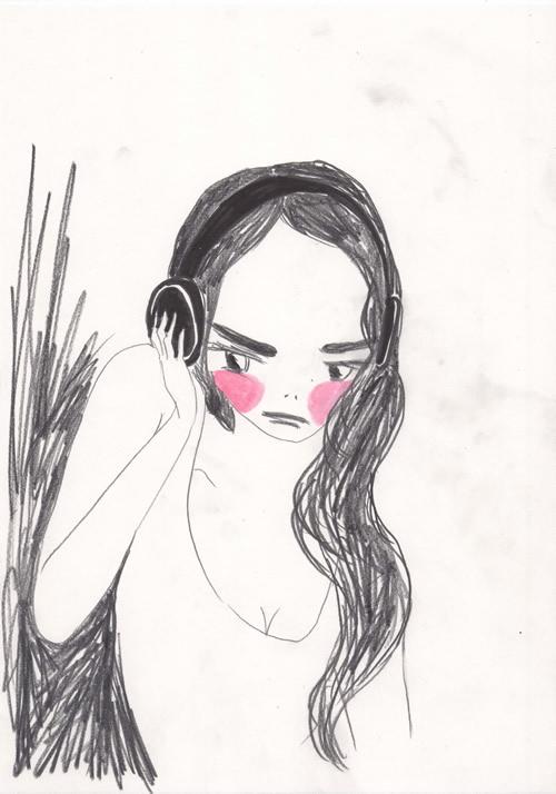 『きみへの距離、1万キロ』小林エリカ書き下ろしイラスト
