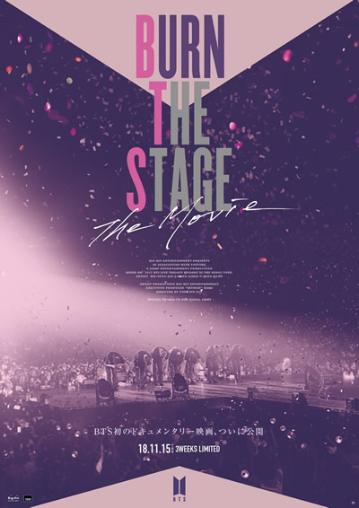 Burn the Stage:the Movie