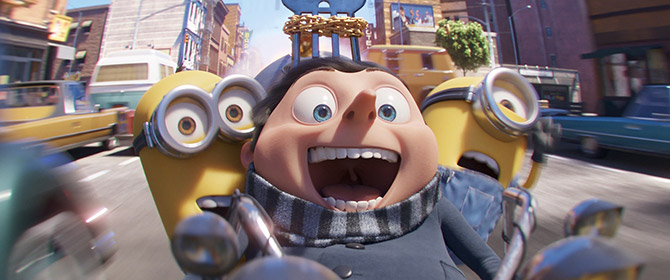 Minions:The Rise of Gru